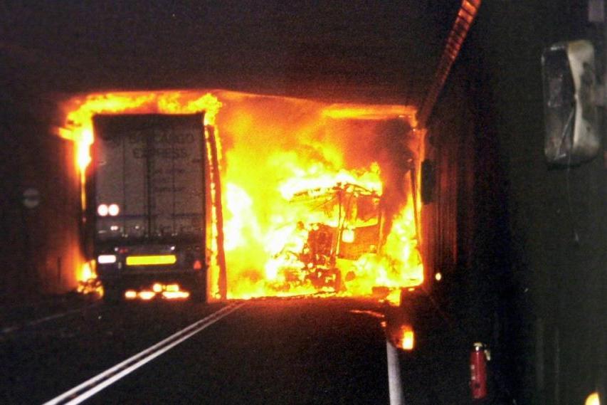 #AccaddeOggi: 24 ottobre 2001, inferno in galleria al San Gottardo