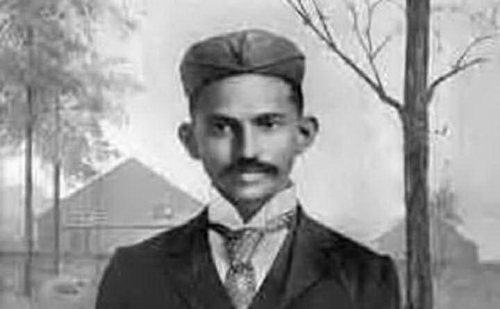 """Da giovane il \""""Mahatma\"""" studia in Sudafrica (foto Wikipedia)"""