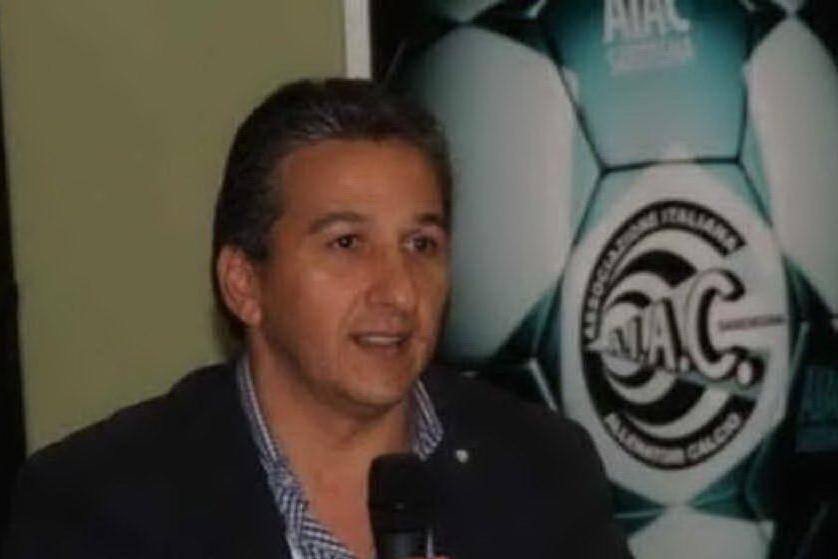 Il sardo Angelo Agus all'assemblea federale della Figc