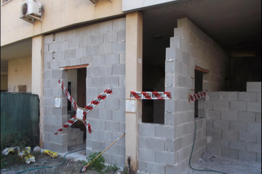 Cagliari, ivigili sequestrano un immobile abusivo