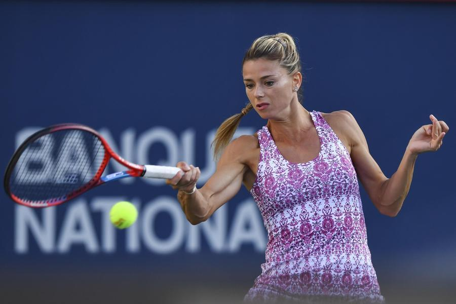 Camila Giorgi (Ansa)