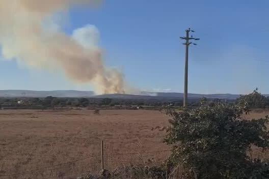Incendio a Santu Lussurgiu, intervengono gli elicotteri
