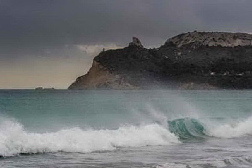 Maltempo, Sardegna sferzata dal maestrale sino a 85 km orari