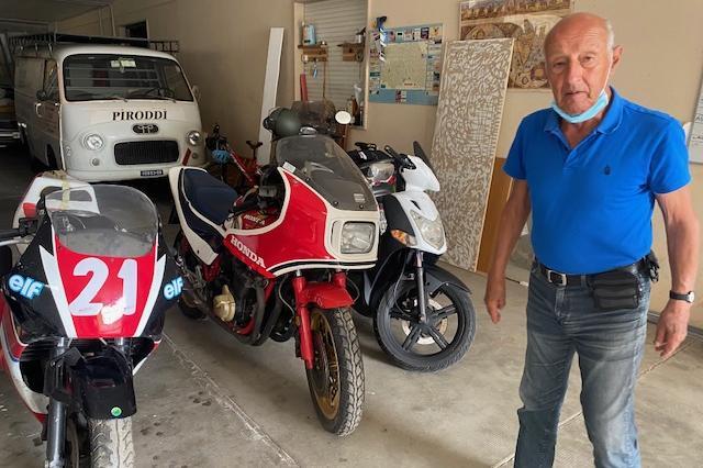 Marco Piroddi e le sue moto