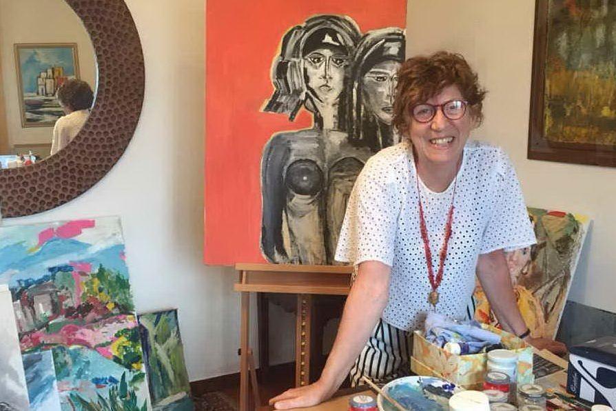Roberta Bruno espone a Ragusa, la prima rassegna della pittrice cagliaritana