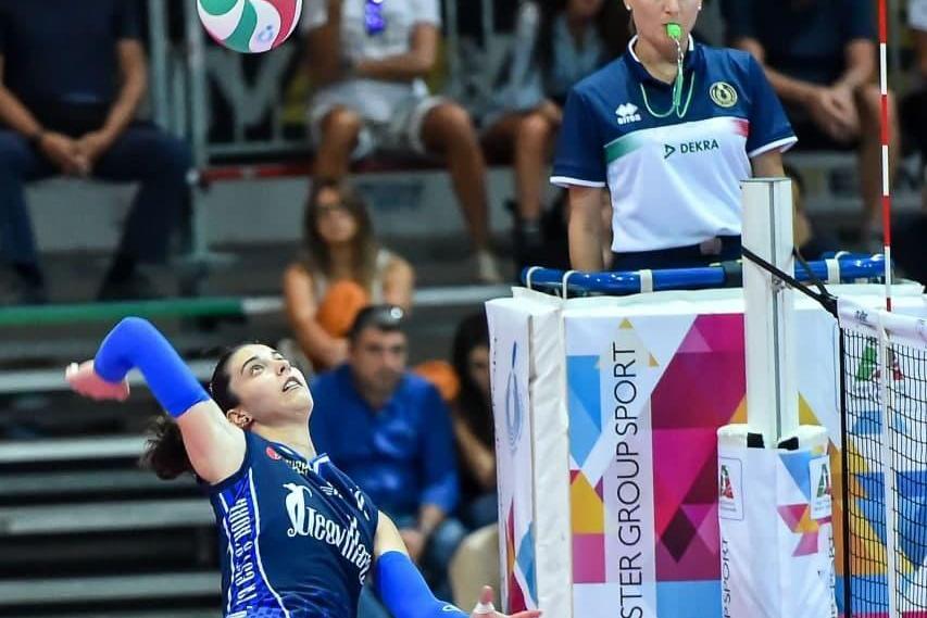 Volley A2 femminile, l'Hermaea Olbia riabbraccia Ilaria Maruotti