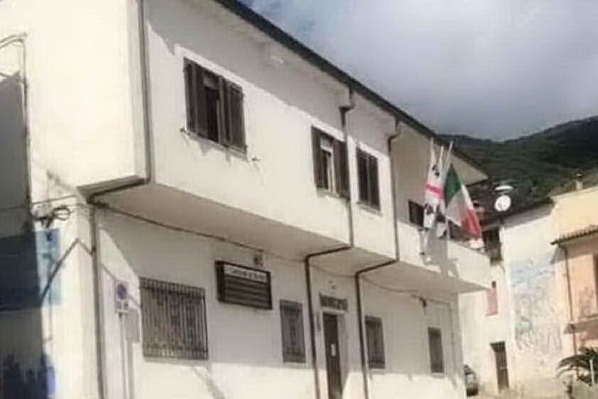 Il municipio di Bultei (foto concessa dal Comune)
