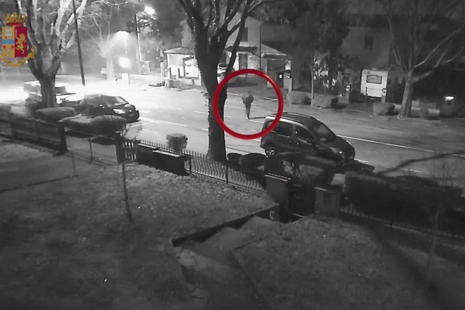 L'omicidio di Ilenia Fabbri, le immagini del presunto assassino