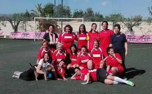 La squadra di Mai più sole (foto Raggio)