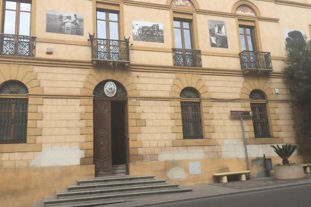 Il municipio di Sanluri (Archivio L'Unione Sarda)