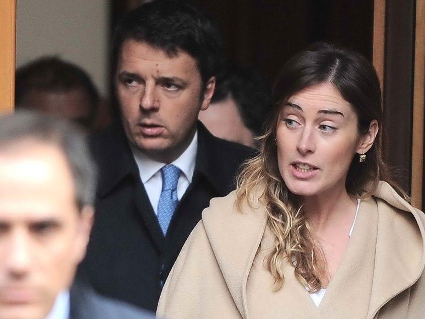 """Banca Etruria, Renzi: """"Saranno gli elettori a giudicare la Boschi"""""""