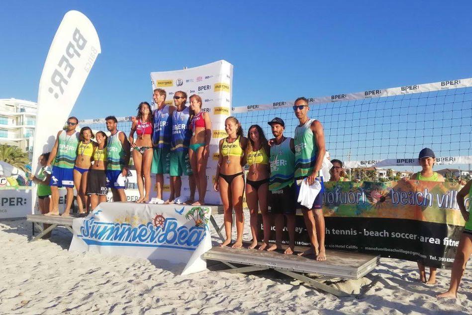 Beach volley, i sardi protagonisti al Bper Italia Tour di Alghero
