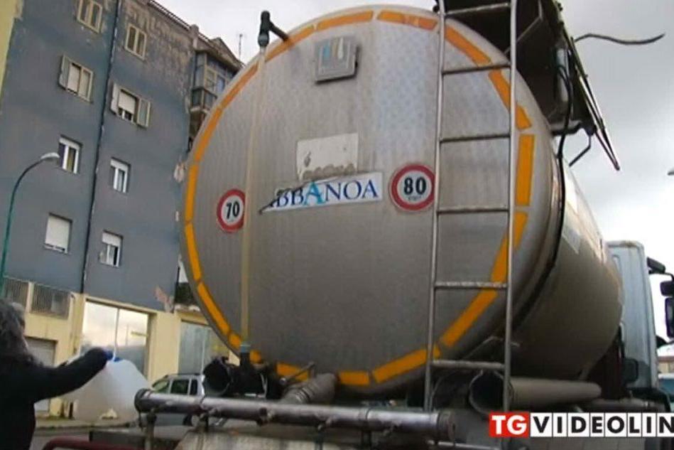 Emergenza idrica: autobotti a Sassari, Stintino e Castelsardo