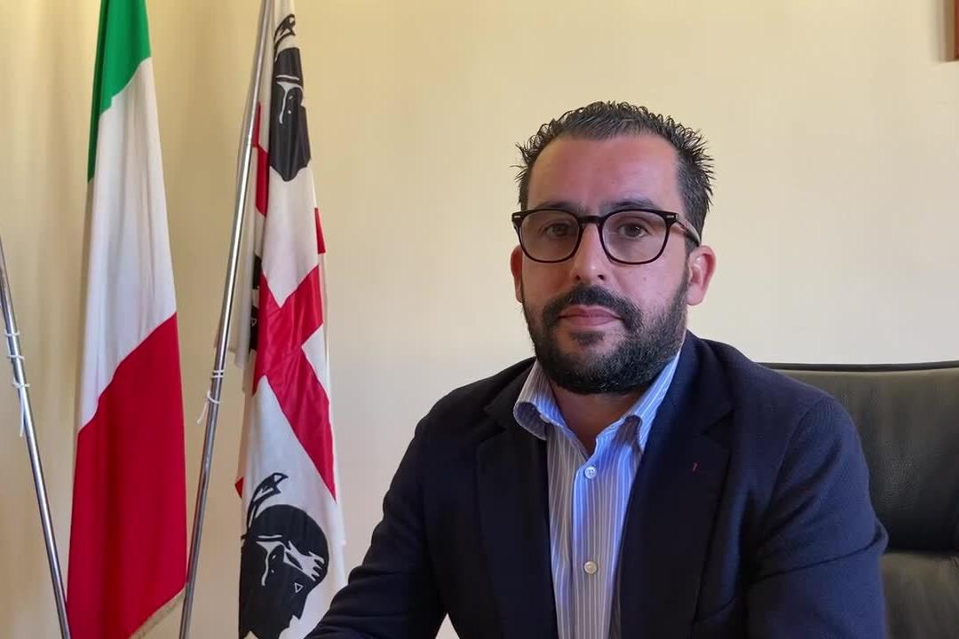 Serramanna, primo giorno in municipio per il nuovo sindaco Gabriele Littera
