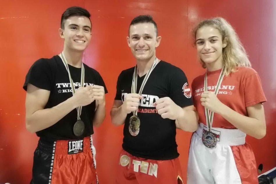 Infinito Spanu, a Rimini il kickboxer domusnovese vince altre due Coppe del Mondo