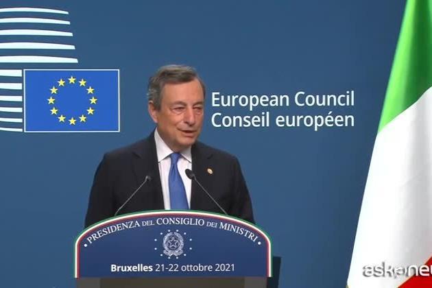 """Pensioni, Draghi: """"Stop Quota 100, ma troveremo soluzioni graduali"""""""