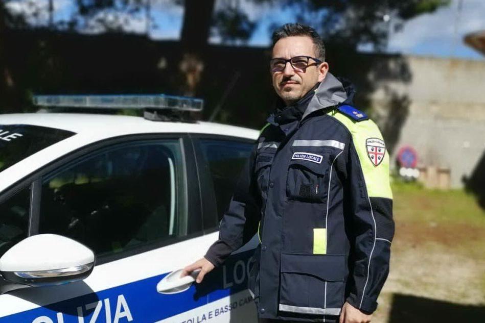 Serdiana, il comandante della Polizia locale Angius torna ad Alghero