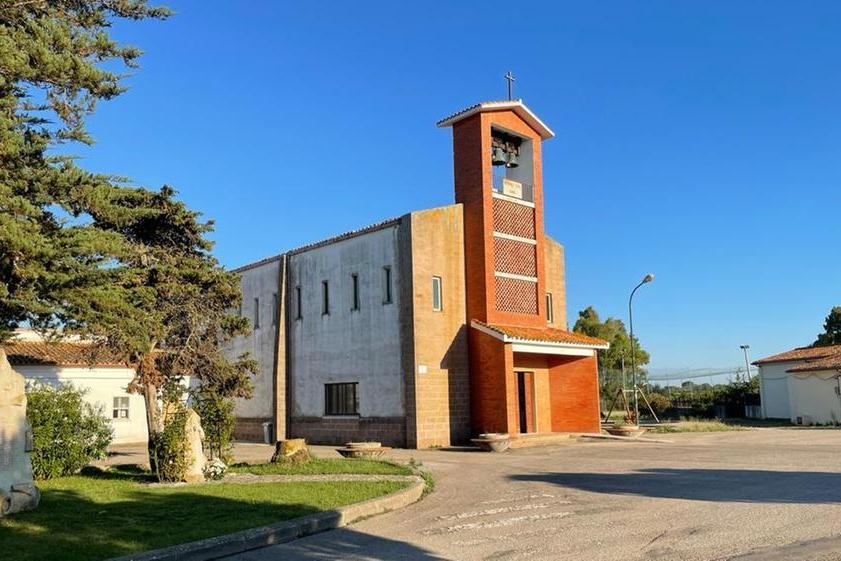 La chiesa della borgata (Foto Tellini)