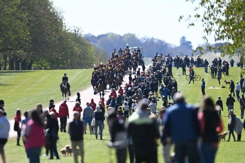 Windsor blindata per i funerali del principe Filippo