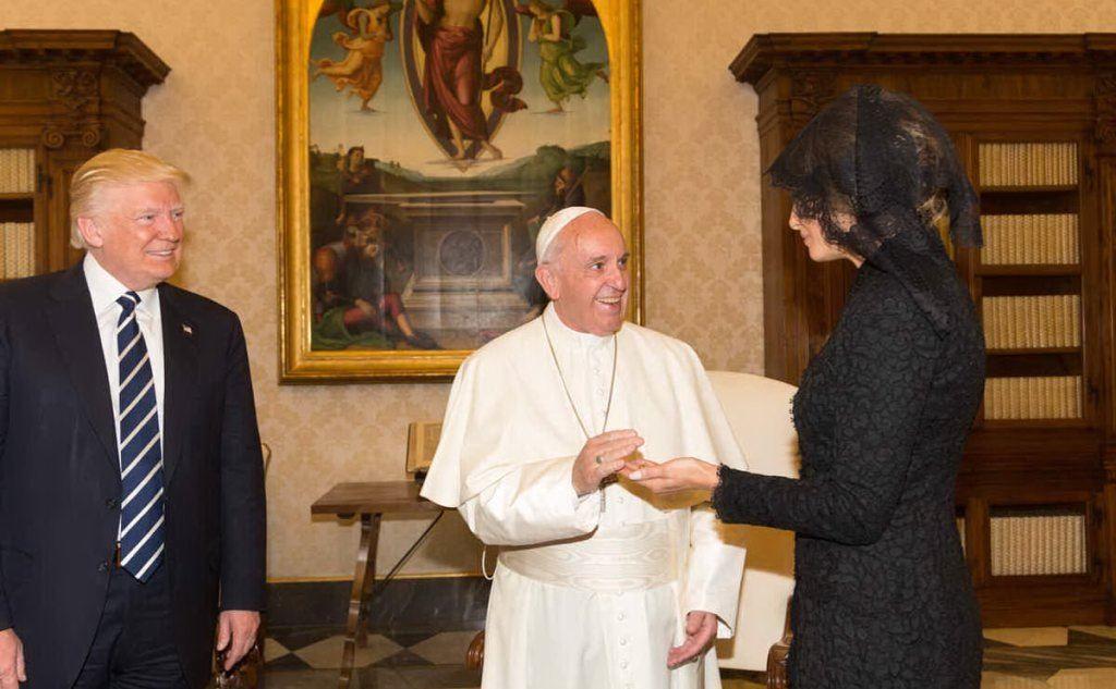 La visita a Papa Francesco (foto Wikipedia)