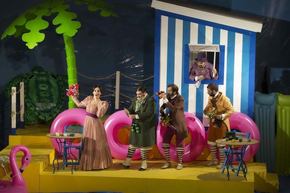 L'opera\r l'Ape Musicale\r in scena\r al Civico\r di Cagliari