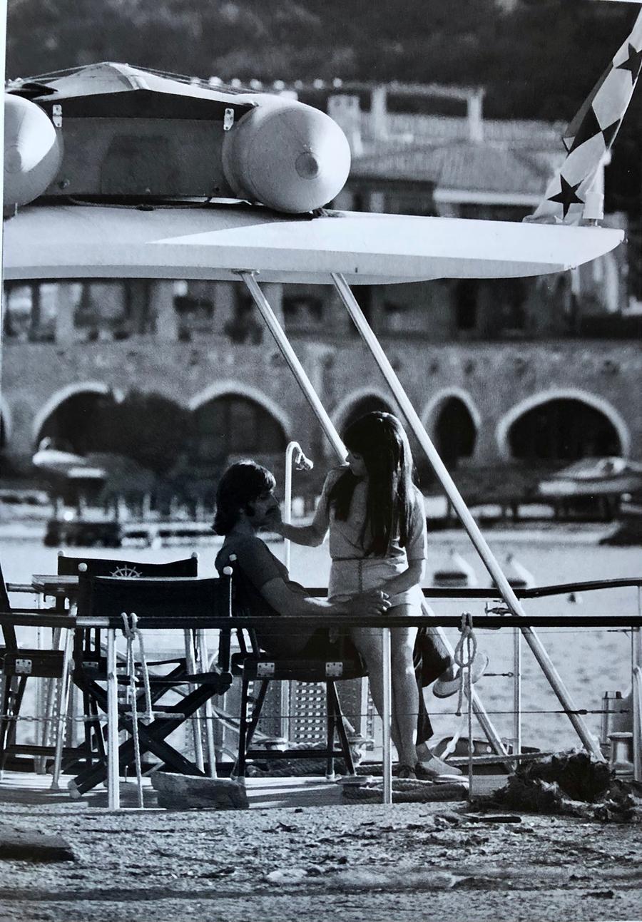 Ringo Starr con la moglie Maureen in Costa Smeralda (Foto concessa Archivio Nello Di Salvo@coast)