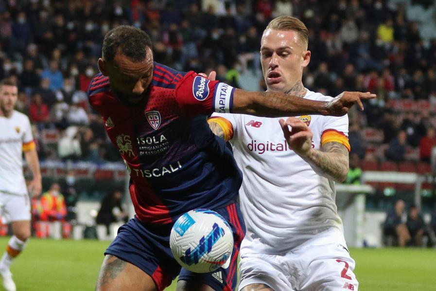 Cagliari ancora ko: la Roma espugna la Domus 2-1