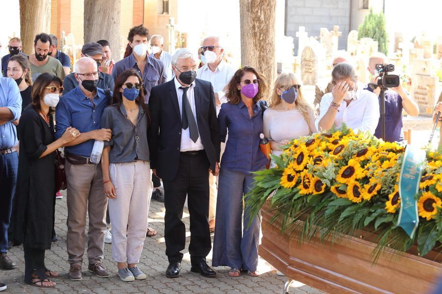I funerali di Libero De Rienzo (Archivio L'Unione Sarda)