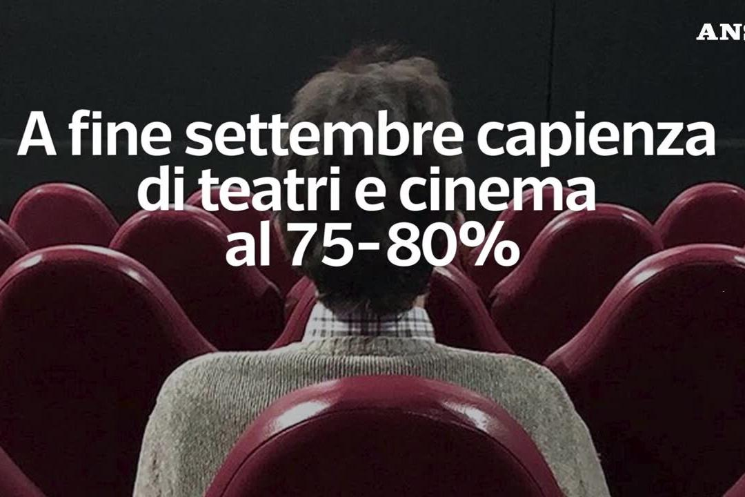 Covid, verso l'aumento della capienza di teatri e cinema