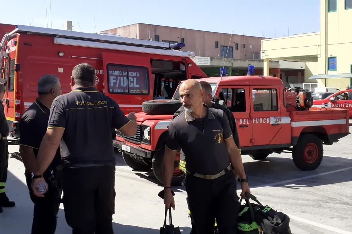 """Sassari, uno dei pompieri impegnati a Predda Niedda: """"E' stata molto dura"""""""
