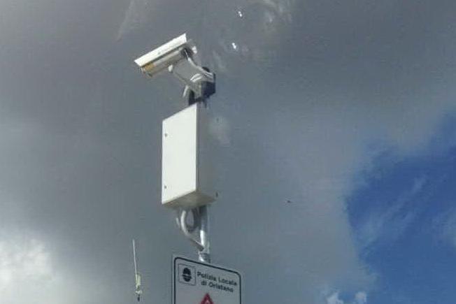 Oristano, telecamere private nella rete di videosorveglianza pubblica