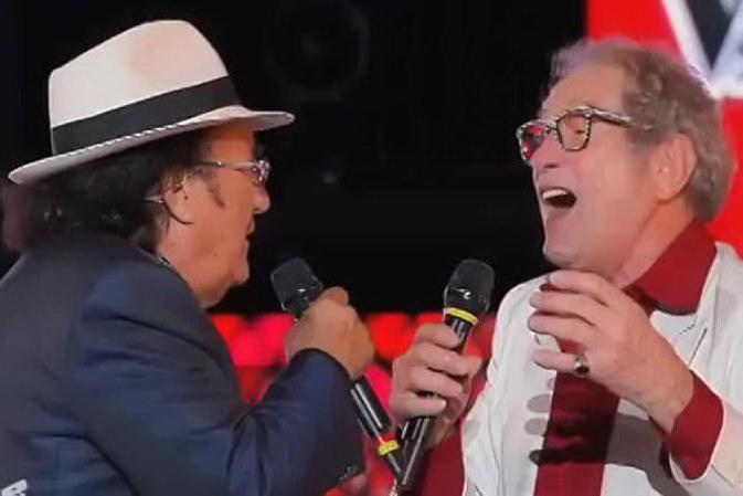 A 84 anni realizza il suo sogno e canta con Al Bano