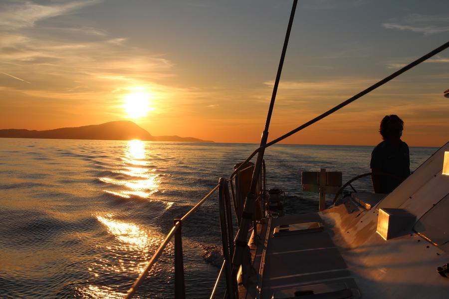 Lo Spirito di Stella in navigazione (foto concessa)
