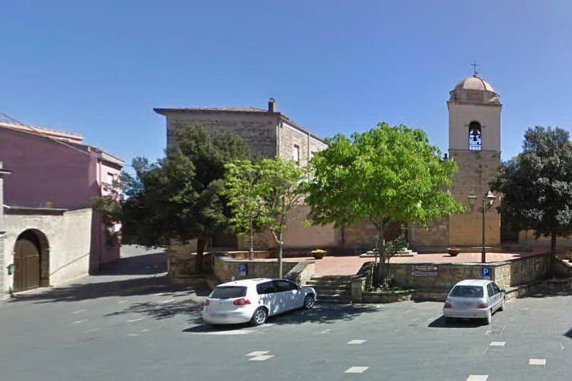 La piazza di Villanovaforru, sede della manifestazione (foto Google Maps)