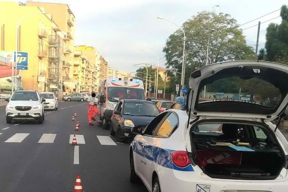 Pedone non vedente investito a Cagliari