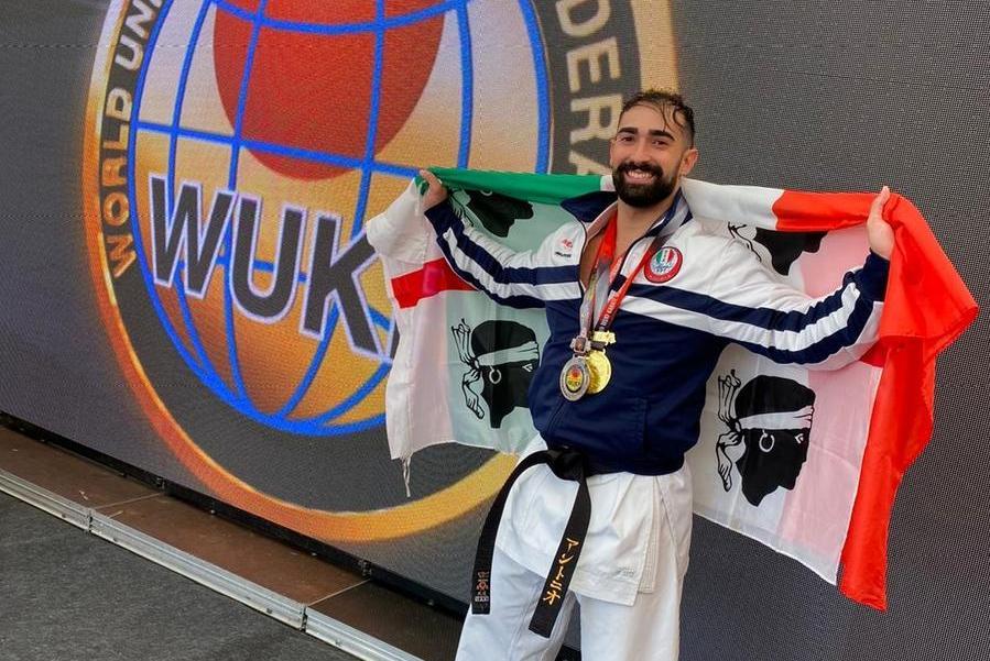 Campionati mondiali di karate, l'ossese Antonio Soggia è medaglia d'oro