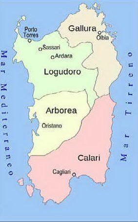 I giudicati della Sardegna