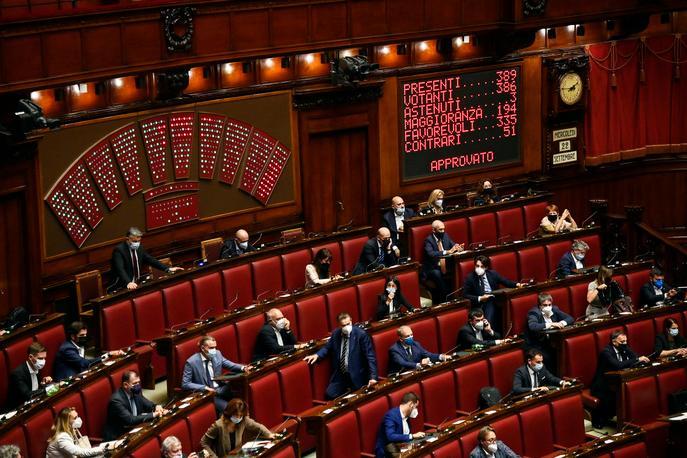Green pass obbligatorio anche alla Camera dei Deputati