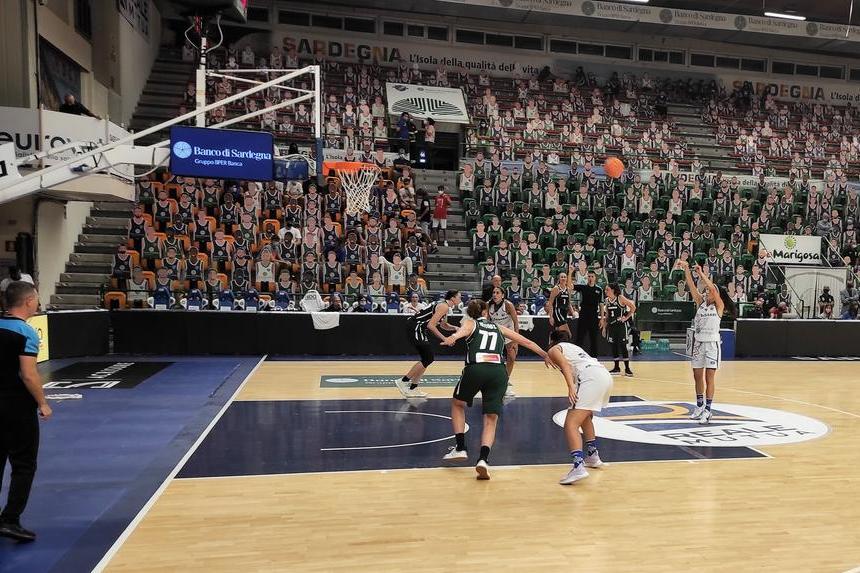 Eurocup femminile: la Dinamo in Lussemburgo per conquistare la fase a gironi