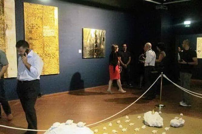 "Una mostra nel museo de \""Sa Corona Arrubia\"""