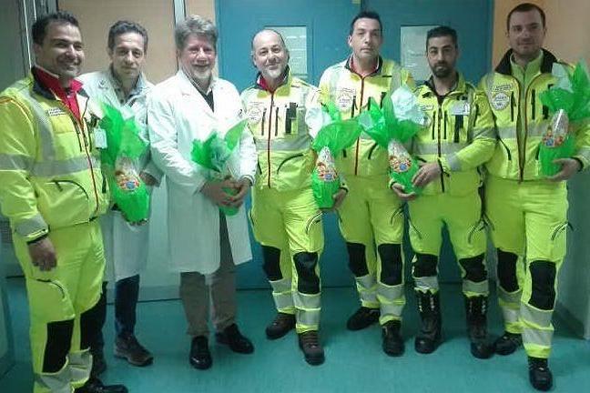 Sassari, i volontari donano uova di Pasqua ai bimbi in ospedale
