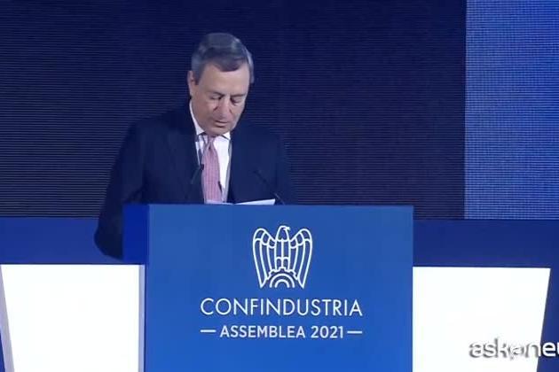 """Draghi: """"Il governo non aumenterà tasse, è il momento di dare e non di prendere"""""""