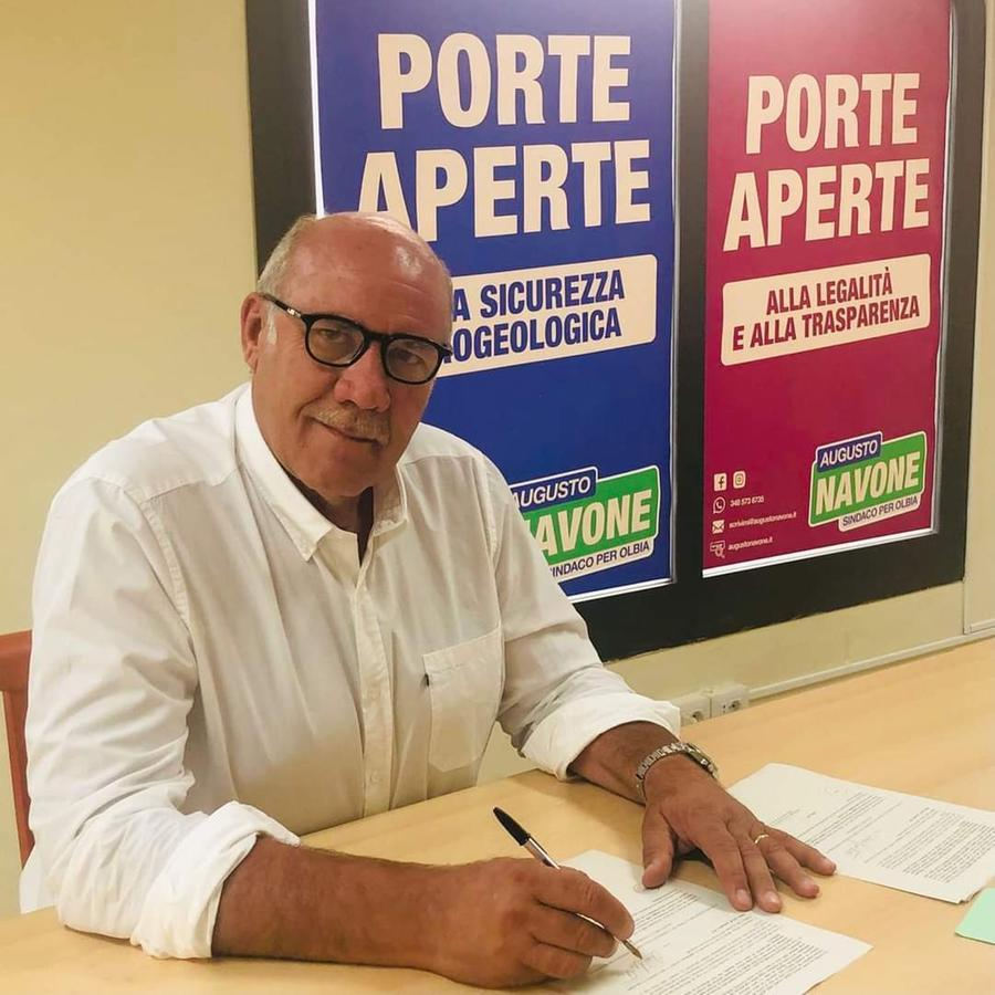 Augusto Navone, 65 anni (foto Careddu)