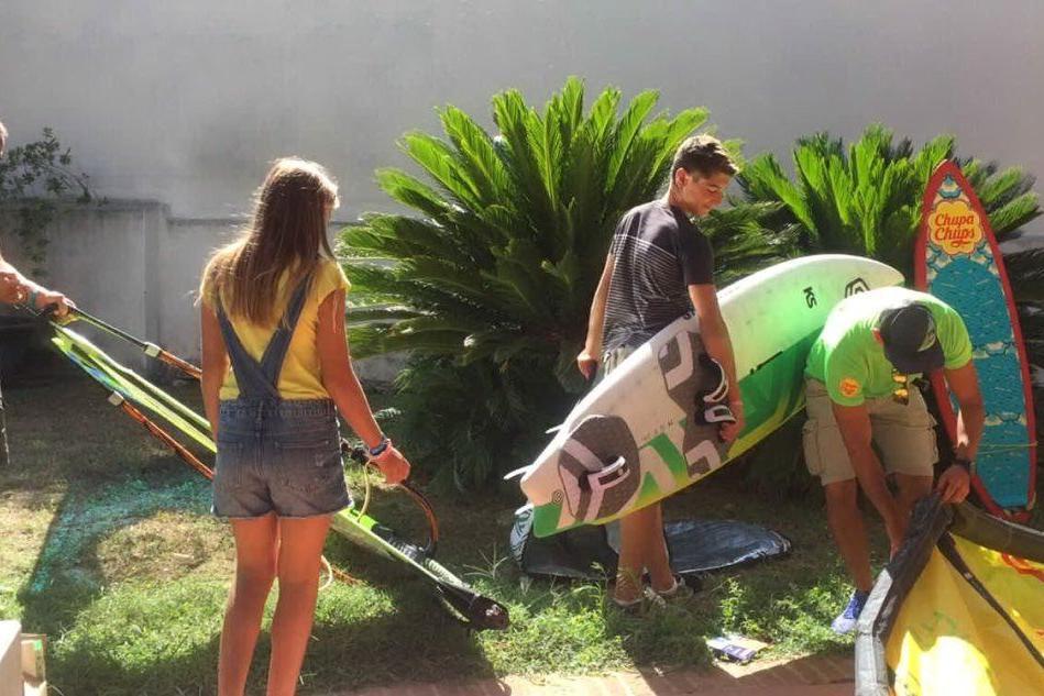 Open water challenge, a Oristano 3 giorni di gare tra vento e onde