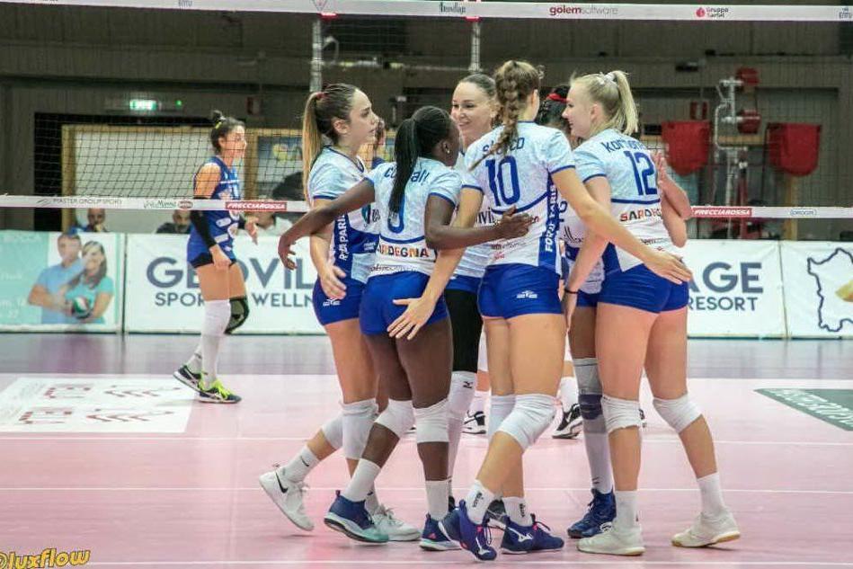 Hermaea Olbia ko: finisce 2-3 per il Mondovì