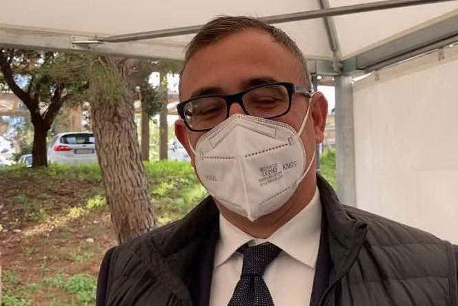 Prime vaccinazioni al Brotzu: parla il commissario Paolo Cannas