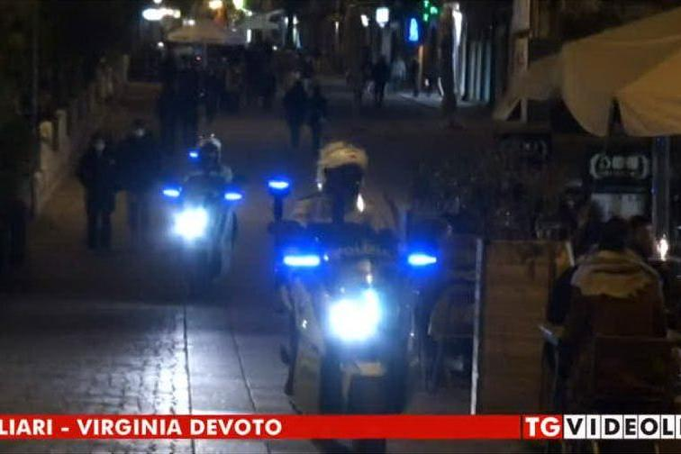 "Cagliari bianca, più controlli anti assembramenti: ""Cittadini responsabili"""