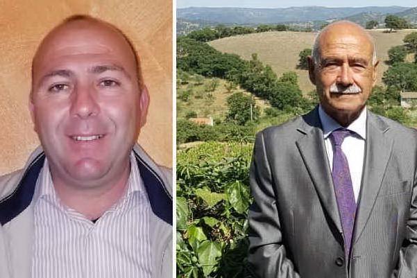 Da sinistra: Giacomo Contini e Tittino Cau (foto L'Unione Sarda - Tellini)