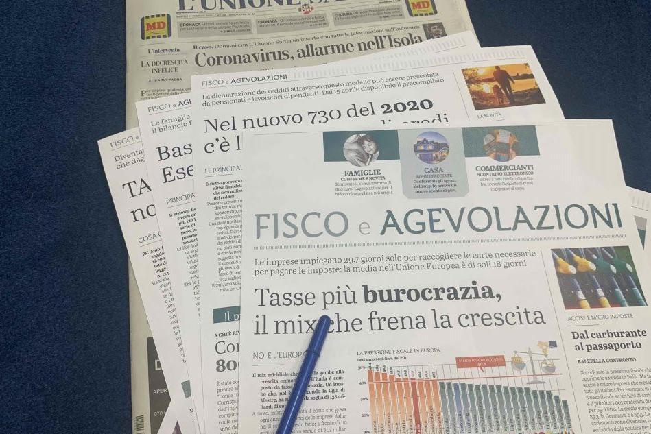 Fisco e agevolazioni: domani inserto in omaggio con il giornale