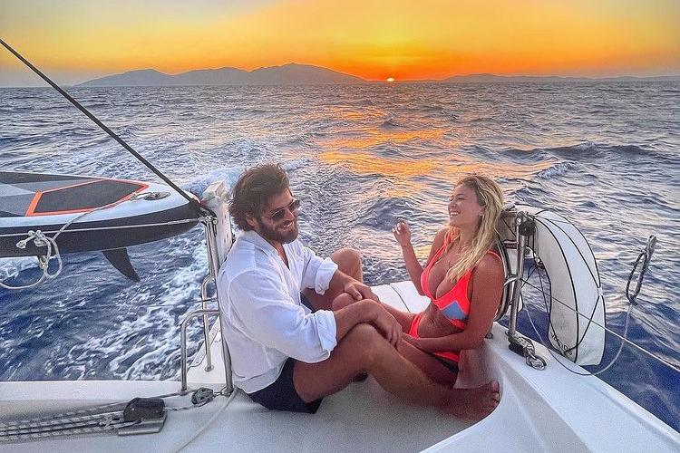 Diletta Leotta e Can Yaman (foto da Instagram)